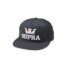 Supra Accessories ABOVE II SNAP BACK Black/Mauve Hats | CA-49028