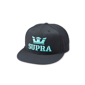 Supra Accessories ABOVE II SNAP BACK Black/Electric Hats | CA-74937