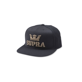 Supra Accessories ABOVE SNAP Black/Dark Olive Hats | CA-22349