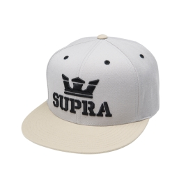 Supra Accessories ABOVE SNAP Grey/Stone Hats | CA-18407