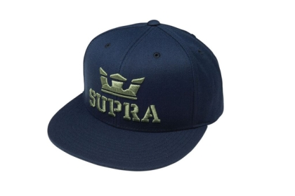 Supra Accessories ABOVE SNAP Navy Hats | CA-72233
