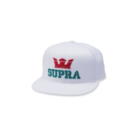 Supra Accessories ABOVE SNAP Red/White/Tea Hats | CA-32943