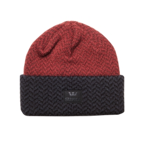 Supra Accessories HERRING BEANIE Black/Red Hats | CA-13830