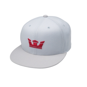 Supra Accessories ICON SNAP Grey/Silver Hats | CA-23266