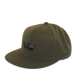 Supra Accessories ICON SNAP Olive/Black Hats | CA-57869