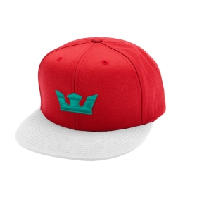 Supra Accessories ICON SNAP Red/White/Tea Hats | CA-10715