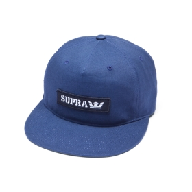 Supra Accessories MARK PATCH SNAP Navy Hats | CA-48669