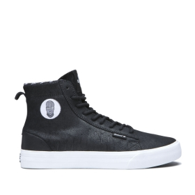 Supra Mens BELMONT HIGH Badwood High Top Shoes | CA-42060