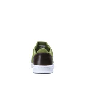 Supra Mens CHINO COURT Army Green/Gray Low Top Shoes | CA-60284