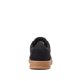 Supra Mens CHINO COURT Black/gum Low Top Shoes | CA-40446