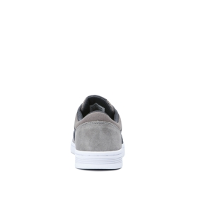 Supra Mens CHINO COURT Grey/Dk Grey/white Low Top Shoes | CA-65591