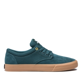 Supra Mens CHINO Evergreen/gum Skate Shoes | CA-46706
