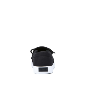 Supra Mens CUBA Black/White Low Top Shoes | CA-54115