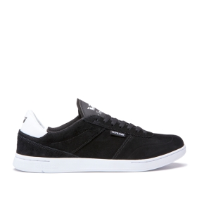 Supra Mens ELEVATE Black/white Low Top Shoes | CA-99431