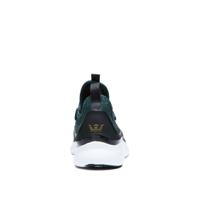 Supra Mens FACTOR Evergreen/white Trainers | CA-91620