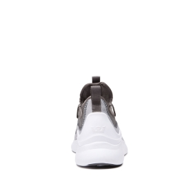 Supra Mens FACTOR Lt Grey/Grey/white Low Top Shoes | CA-41088