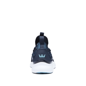 Supra Mens FACTOR Navy/Topaz/white Low Top Shoes | CA-92131