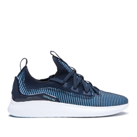Supra Mens FACTOR Navy/Topaz/white Trainers | CA-68301