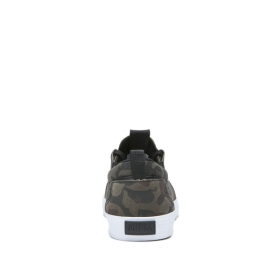 Supra Mens FLOW Camo/White Low Top Shoes | CA-62360