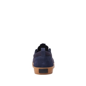 Supra Mens FLOW Navy/Gum Low Top Shoes | CA-10090
