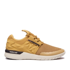 Supra Mens FLOW RUN EVO 2 Woodthrush/bone Trainers | CA-51432
