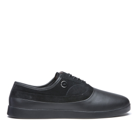 Supra Mens GRECO Black/Black Skate Shoes | CA-73652