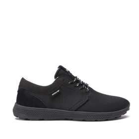 Supra Mens HAMMER RUN Black Trainers | CA-44411