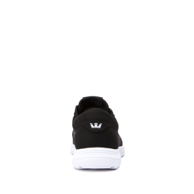 Supra Mens HAMMER RUN Black/White/white Trainers | CA-53499