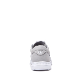 Supra Mens HAMMER RUN Grey/White/white Trainers | CA-11087