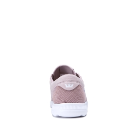 Supra Mens HAMMER RUN Mauve/white Low Top Shoes | CA-24955