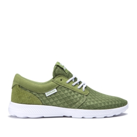 Supra Mens HAMMER RUN Moss/white Trainers | CA-96695