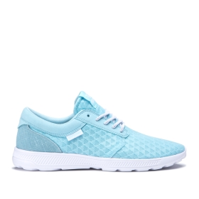 Supra Mens HAMMER RUN Topaz/white Low Top Shoes | CA-49535