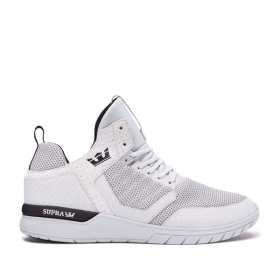 Supra Mens METHOD Cool Grey/Black/cool Grey High Top Shoes | CA-28616
