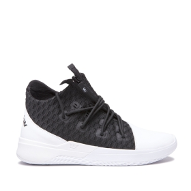Supra Mens REASON White/Black/white Trainers | CA-24696