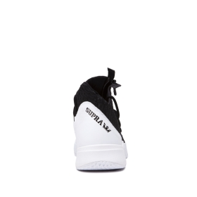Supra Mens REASON White/Black/white High Top Shoes | CA-94035