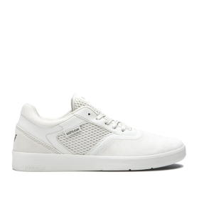Supra Mens SAINT Bone/bone Low Top Shoes | CA-46667