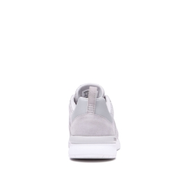 Supra Mens SCISSOR Lt.Grey/white Low Top Shoes | CA-53012