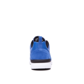 Supra Mens SCISSOR Ocean/white Low Top Shoes | CA-45877