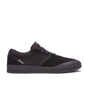 Supra Mens SHIFTER Black/black Skate Shoes | CA-99233