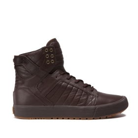 Supra Mens SKYTOP CW Demitasse/demitasse/Gum High Top Shoes | CA-20458