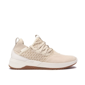 Supra Mens TITANIUM Mojave/Bone/gum Low Top Shoes | CA-48223