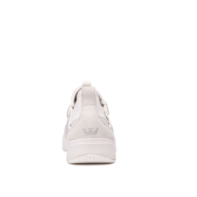 Supra Mens TITANIUM Off White/ Off White Low Top Shoes | CA-15370