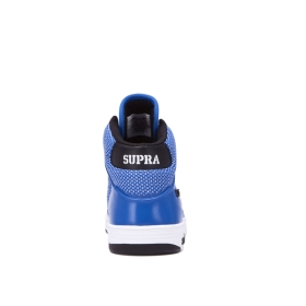 Supra Mens VAIDER 2.0 Ocean/white High Top Shoes | CA-65825
