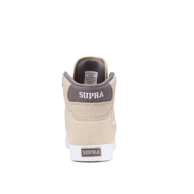 Supra Mens VAIDER Mojave/Dk Grey/white High Top Shoes | CA-16462
