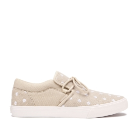 Supra Womens CUBA Mojave/Mojave/bone Low Top Shoes | CA-39949