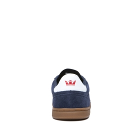 Supra Womens ELEVATE Navy/Gum Low Top Shoes | CA-95815