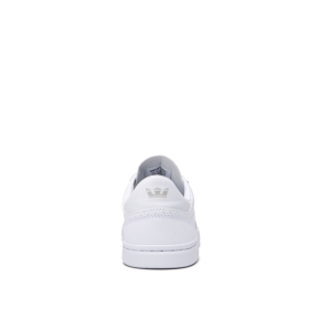 Supra Womens ELEVATE White/white Low Top Shoes | CA-72718