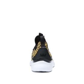 Supra Womens FACTOR Animal/white Low Top Shoes | CA-66353