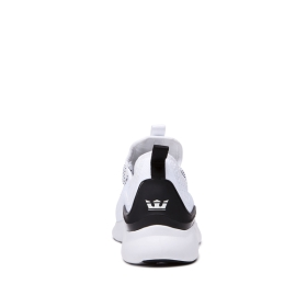 Supra Womens FACTOR White/Black/white Low Top Shoes | CA-51344