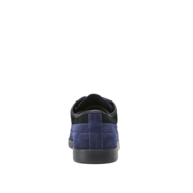 Supra Womens GRECO Blue Suede Low Top Shoes | CA-30373